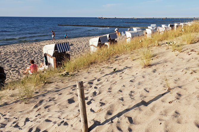 Beach day in Graal Müritz, Baltic Sea