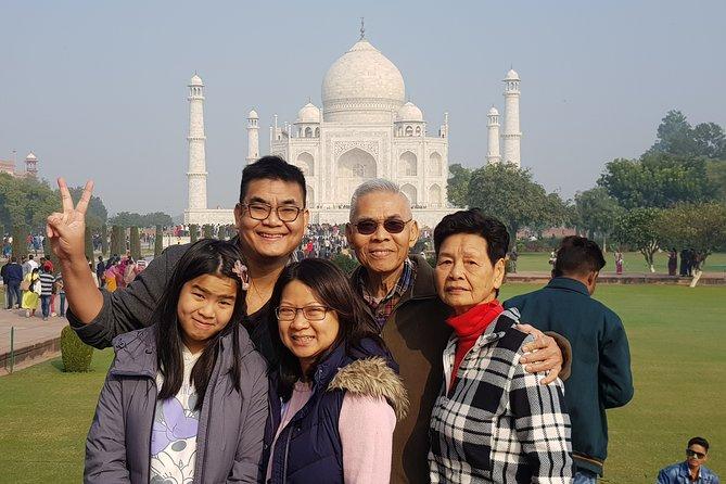 Day Trip to Taj Mahal, Agra Fort and Baby Taj from Delhi by Car