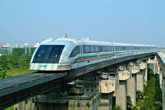 Private Transfer from Shanghai Maglev Train Station to City Area