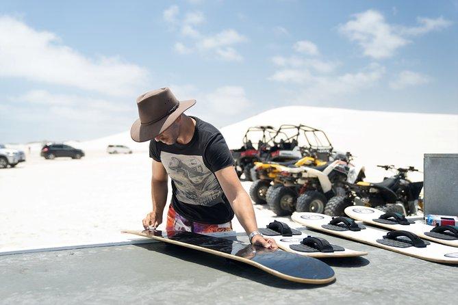 Sandboard Hire Lancelin Sand Dunes