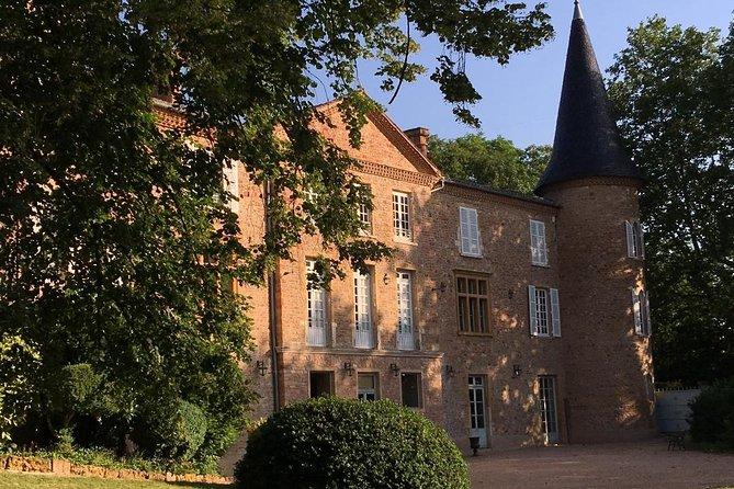 Gourmet walk in the gardens of Château Champ-Renard