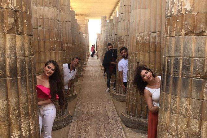 3-Day Private Cairo Stopover Tour: Pyramids, Sphinx, Tutankhamen Treasures and Ben Ezra Synagogue