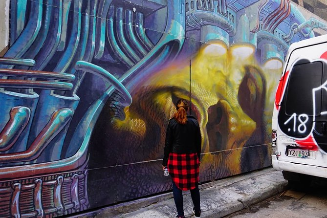 Discover Awesome Street Art with a Street Art Photographer in Athens Small-Group