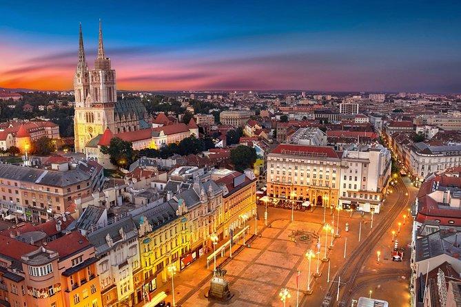 Zagreb Airport Transfers : Zagreb Airport ZAG to Zagreb City in Luxury Van