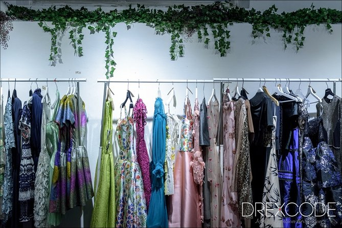 Private visit to a fashion showroom