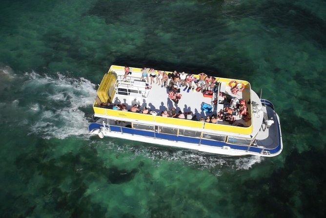 Catamaran Isla Mujeres Unlimited from Riviera Maya