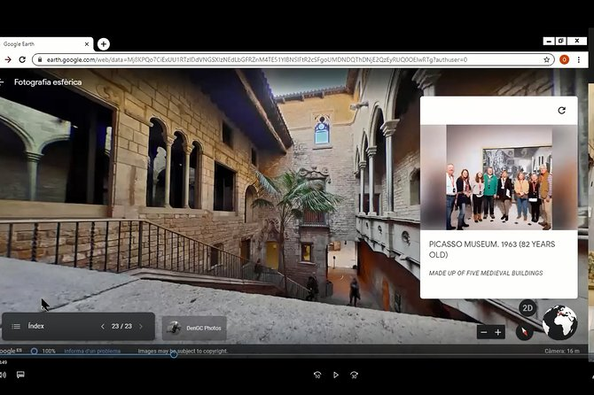 Barcelona Picasso, Interactive Virtual Tour with Expert Local Guide