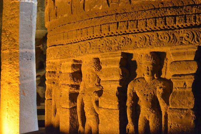 Ajanta & Ellora Caves Guided 2 Day Tour from Aurangabad