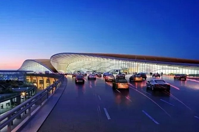 Beijing Daxing or Capital Int'l Airport Private Departure Transfer from Tianjin