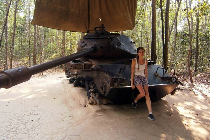 Half day Cu Chi tunnels group tour from Ho Chi Minh city
