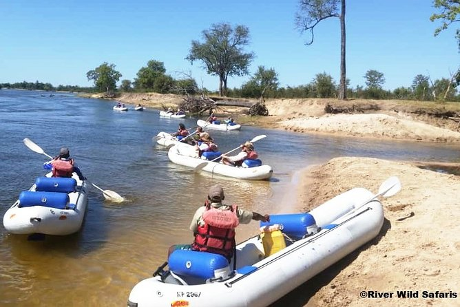 Canoeing Upper Zambezi 1 Day - River Wild Safaris