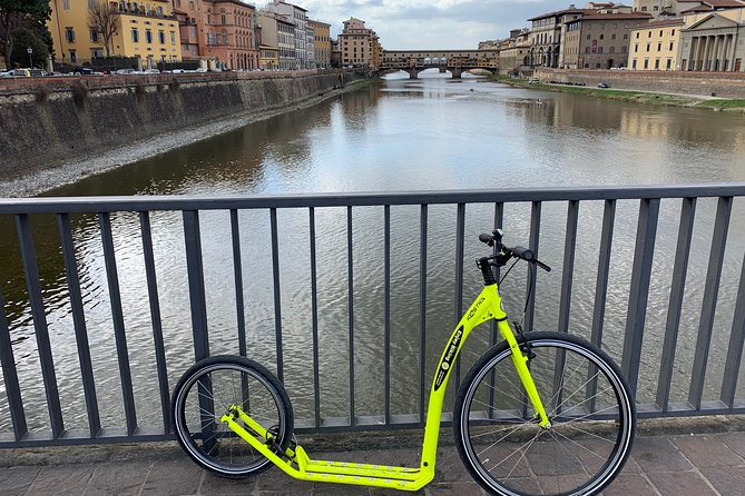 Kickbike Adventure through Florence with locals