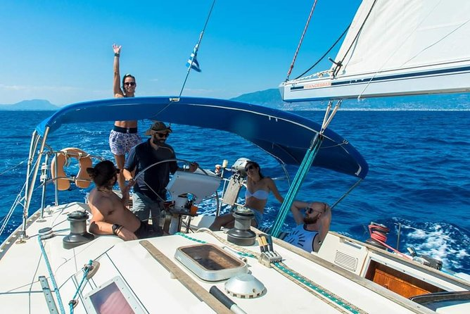 Sweet morning sailing cruise