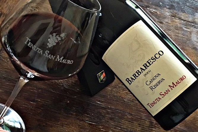Private Tasting Barbaresco Experience with Typical Products