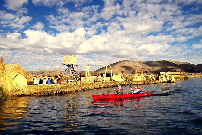 Kayaking at Lake Tititica