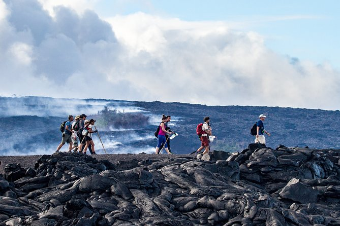 Kona Volcano by Air & Land: Helicopter, Coach, Walking Adventure - Private Tour