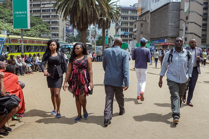Private Tour: Nairobi City Walking Guided Half-Day Tour