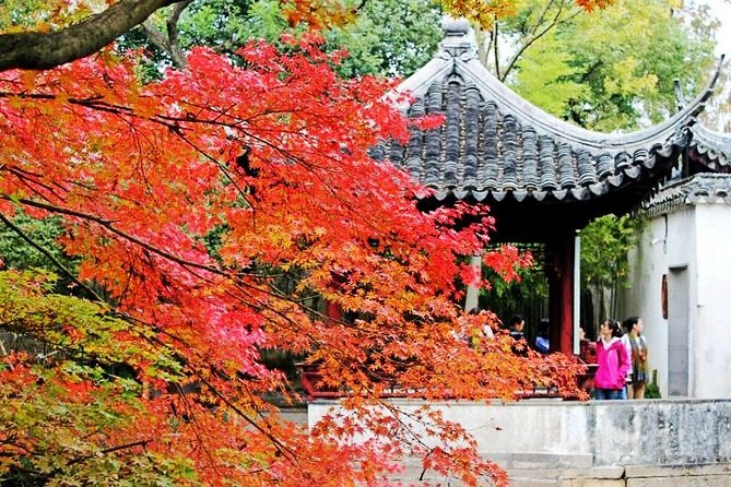 4-Hour Suzhou Private Flexible Tour with Garden and Boat Ride Option
