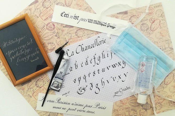 Latin Calligraphy Workshop in Paris