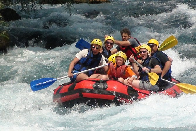 Rafting and Quad Adventure with Zipline, Combo Tour From Antalya Hotels