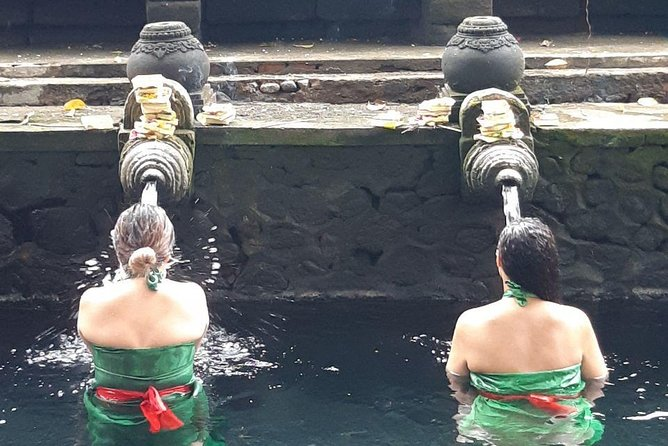 Balinese Healing, Purifying Bath and Waterfall