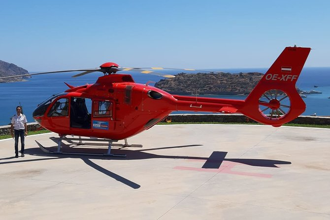 Helicopter Transfer Athens - Mykonos or vice versa - Airbus H135 - up to 6 PAX
