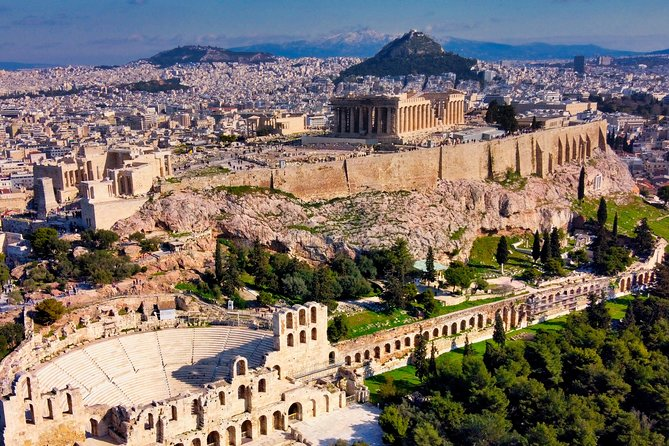 Athens city private tour
