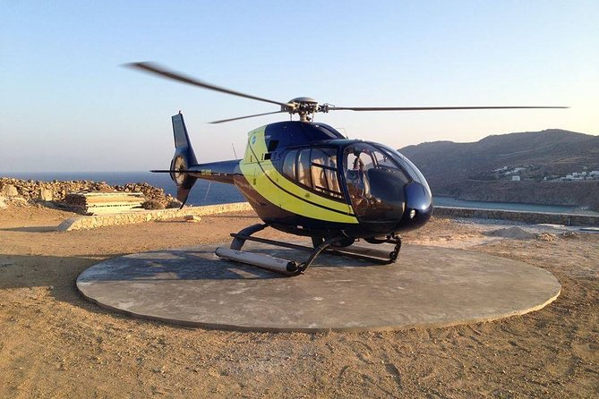 Athens to Tinos Helicopter Flight