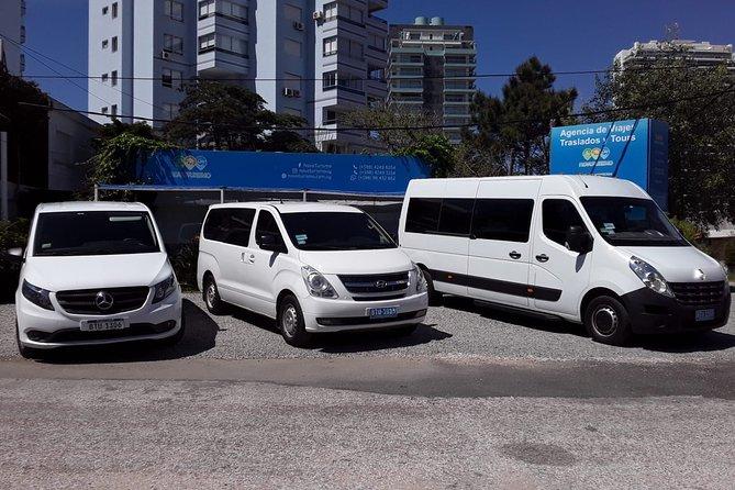 Departure transfer Accommodation Punta del Este / Punta del Este Airport