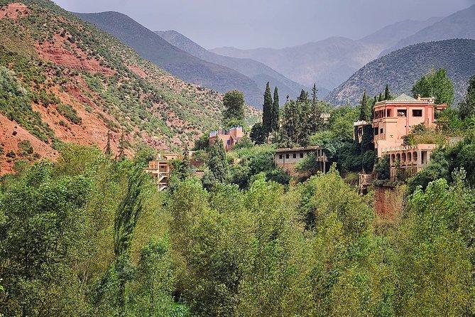 Excursion 3 Valleys / Atlas / Ourika / Lake Lalla Takerkoust / Private 4x4 Berber Breakfast