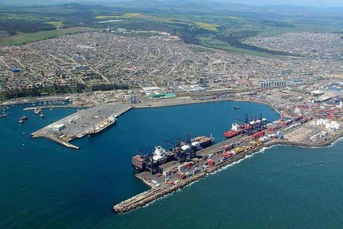 San Antonio Port to Santiago Airport or Hotel Private Transfer