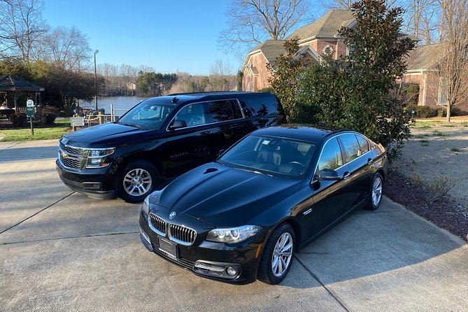 Round Trip In Private Luxury Car from Charlotte Airport (CLT) To Mooresville