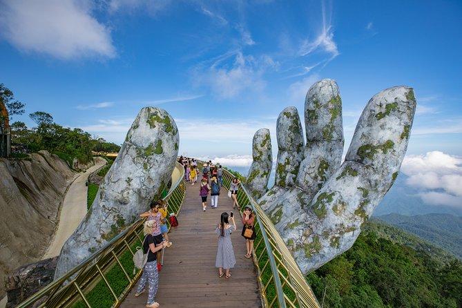 Private Tour: Visit Golden Bridge & Ba Na Hills from Da Nang