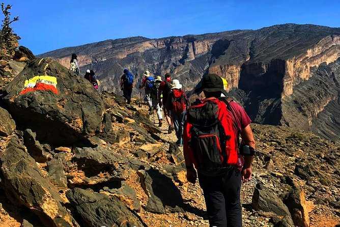 Jabel Shams Oman Trekking Adventure Full day