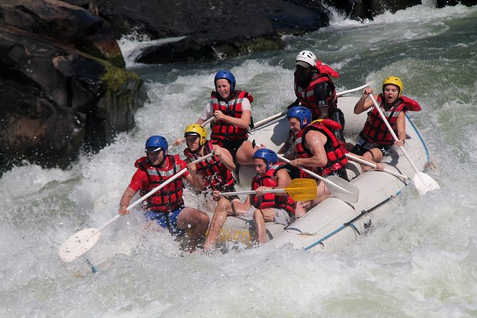 White Water Rafting in the Zambezi River