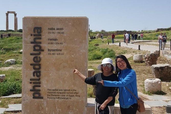 Amman City and Dead Sea Beach Layover Tour