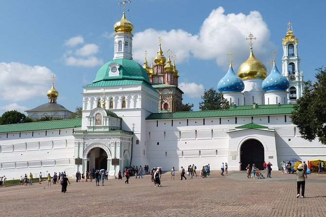 Sergiev Posad private tour with transfer from Moscow