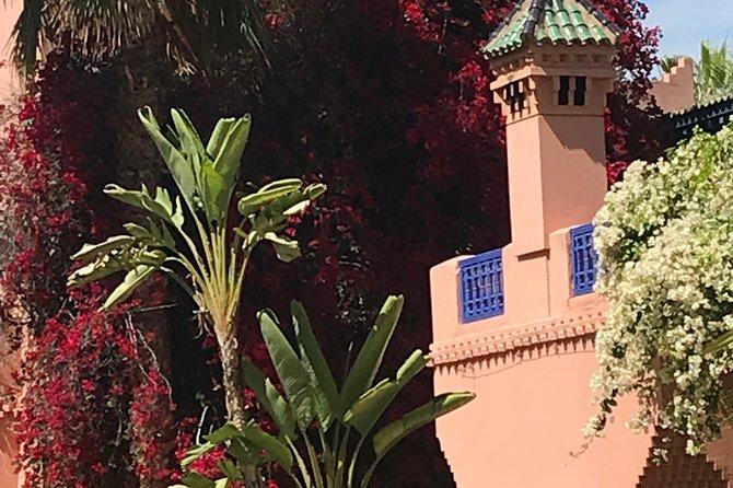 A visit to the gardens: Menara Garden Majoril Garden and the palm grove
