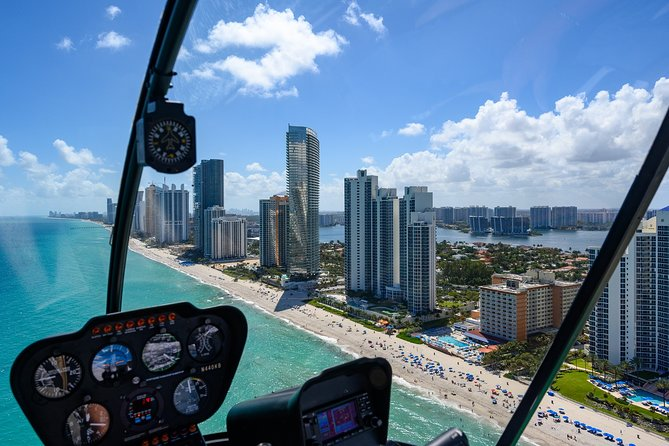 Private Miami & Ft. Lauderdale Helicopter Tour with Ocean Views
