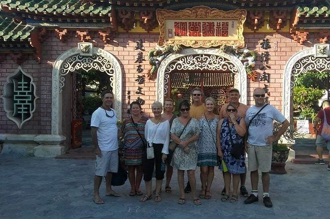 Private Tour to Visit Marble Mountain & Hoi An City with Colourful Lanterns