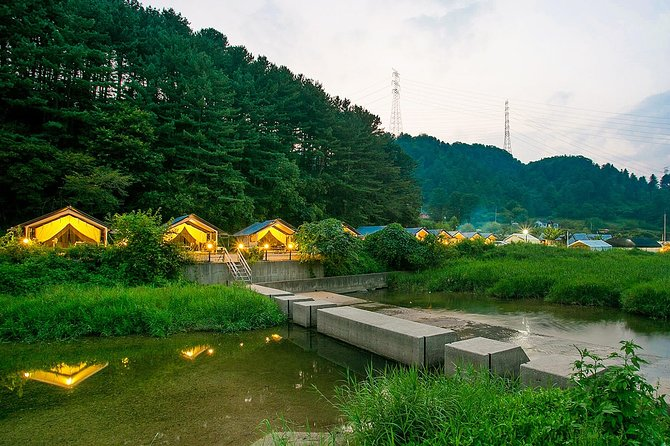 Full day Customizable Private Glamping Tour with Korean BBQ Dinner