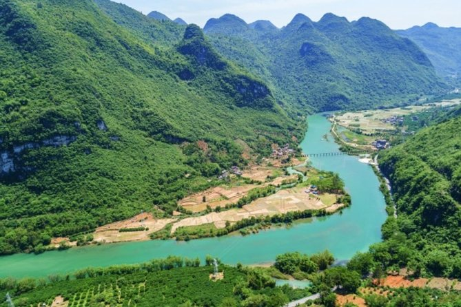 Private Day Tour to Xiatianxia Valley in Yangshan County from Guangzhou