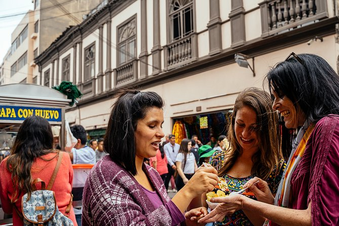 Withlocals Connect: Eat Local Food & Flavour Walk in Lima for Small Group