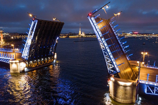 Drawbridges Cruise - St. Petersburg boat tour