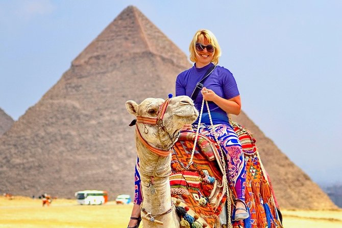 Sunrise Camel Ride at Giza Pyramids