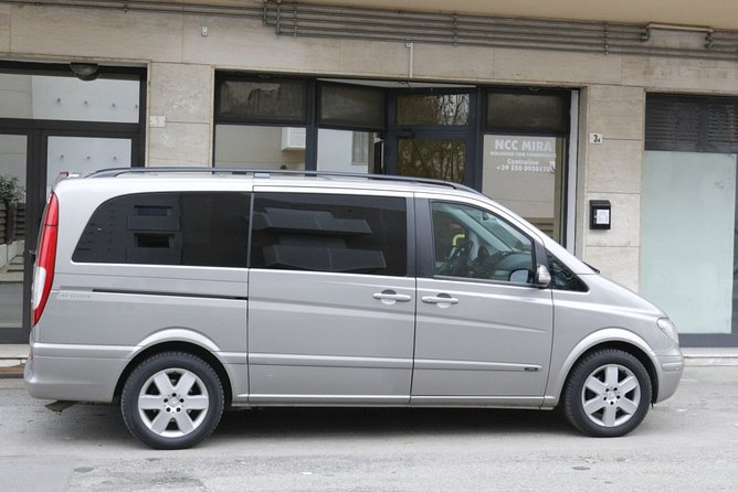Private transfer, chauffeur service, from Venice Marco Polo airport to Stra