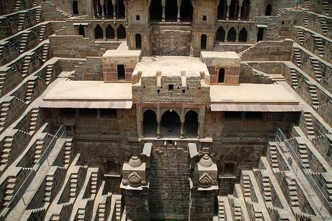 Abhaneri Step Wells Day Tour with Lunch