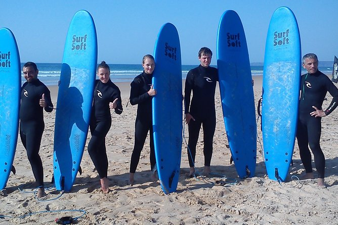 Surf lessons in the Algarve