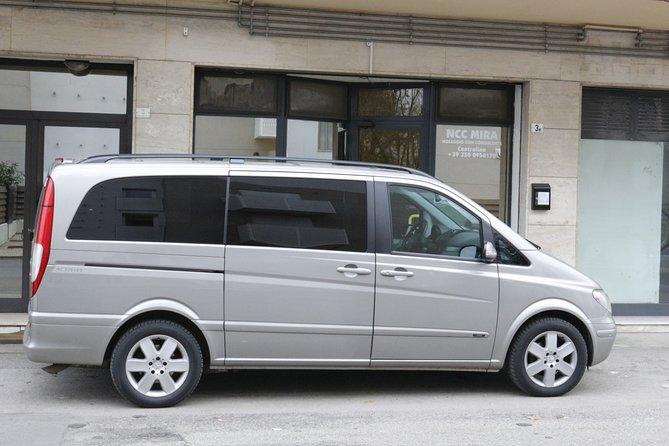 Private transfer, chauffeur service, Treviso airport to Venice cruise terminal