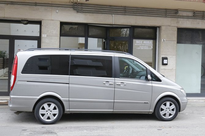Private transfer, chauffeur service, from Treviso airport to Venice car terminal